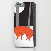 Winter Fox Vertical iPhone 6 Slim Case