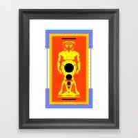 21st David Framed Art Print