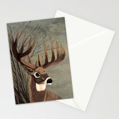 Buck with big racks  Stationery Cards