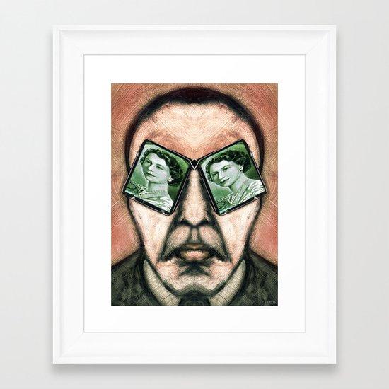 MI6 Framed Art Print