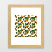 Jamaican Botanicals - Ce… Framed Art Print