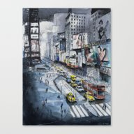 Time Square - New York C… Canvas Print