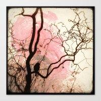 L'oiseau sur l'Arbre Canvas Print