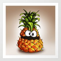 PINEAPPLE | ANANA Art Print