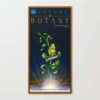 The Future Of Botany Canvas Print