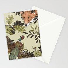 Fox & Pheasant Stationery Cards