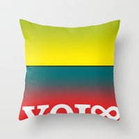You Only Live Forever—… Throw Pillow
