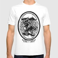 Abraxas Mens Fitted Tee White SMALL