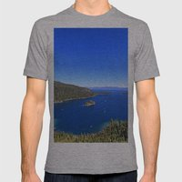 Emerald Bay Mens Fitted Tee Athletic Grey SMALL
