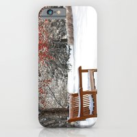Winter Bench And Crabapp… iPhone 6 Slim Case