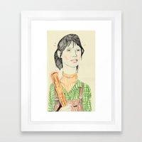 wendy torrance Framed Art Print