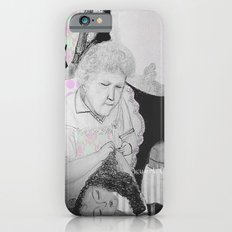 old woman iPhone 6 Slim Case