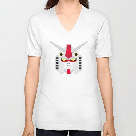 GUNDAM V-neck T-shirt
