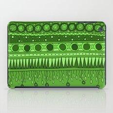 Yzor pattern 007 green iPad Case