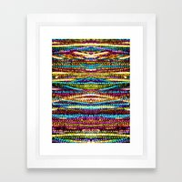 Party Phone Framed Art Print