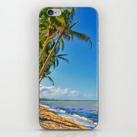 Coconut palms in Tropical North Queensland iPhone & iPod Skin