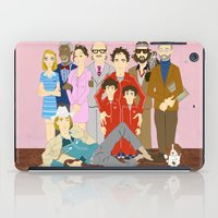 Royal Tenenbaums Family Portrait  iPad Case