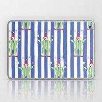 Clown (blue) Laptop & iPad Skin