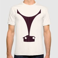 Silhouette Racers - Talbot Lago Teardrop Coupe Mens Fitted Tee Natural SMALL