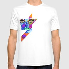 Flowers between your teeth Mens Fitted Tee White SMALL