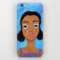 Sad Eyes iPhone & iPod Skin