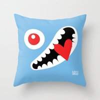 EYE LOVE Throw Pillow