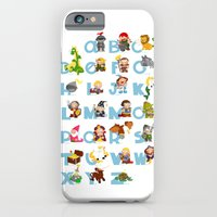 iPhone & iPod Case featuring ABC  medieval (english) by Alapapaju