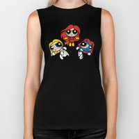 Sisterhood of Evil Puffs Biker Tank