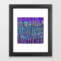 :: Purple Rain :: Framed Art Print