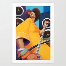 Solista Art Print
