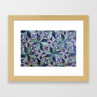 Tiling with pattern 3 Framed Art Print