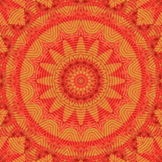 Orange K Art Print