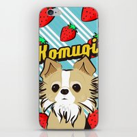 Komugichan iPhone & iPod Skin