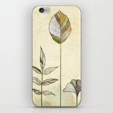 Leaf Study iPhone & iPod Skin