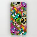 Puke Pattern iPhone & iPod Skin