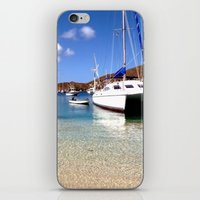Tranquil Mooring iPhone & iPod Skin