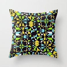 Square 3 color option 2  Throw Pillow