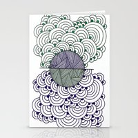 Shape 4 Stationery Cards
