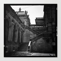 Dresden Germany Staircas… Canvas Print