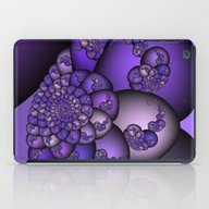 Perplexity Of Purple iPad Case