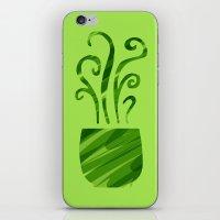 Green Tea iPhone & iPod Skin