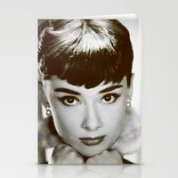 Presenting Miss Hepburn Stationery Cards
