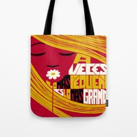 Sometimes the Smallest is the Greatest. Tote Bag