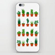 Small Plants iPhone & iPod Skin