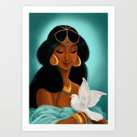 Her royal highness, the Sultana Jasmine Art Print