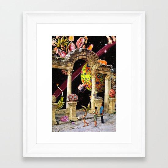 Minute Two Framed Art Print