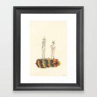 So You Can Stand Up For … Framed Art Print