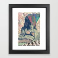 Love Is A Losing Game Framed Art Print