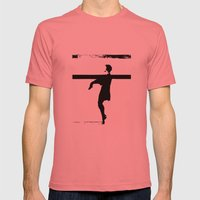 hoctor by steichen  Mens Fitted Tee Pomegranate SMALL