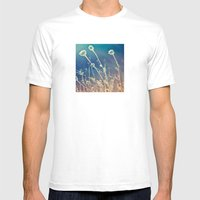 Blue And Day  Mens Fitted Tee White SMALL